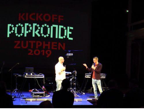 KICKOFF LUSTRUM POPRONDE ZUTPHEN 2019 LIVE VANUIT DE BUITENSOOS VAN THEATER DE HANZEHOF