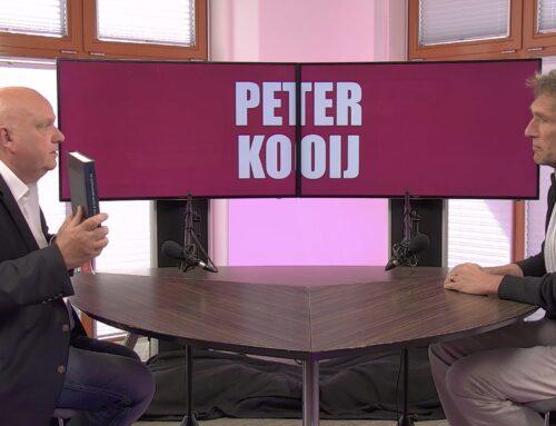 PETER KOOIJ (AUTEUR): 'JE MOET BEREID ZIJN EEN DAG TE SPEUREN ZONDER RESULTAAT…'